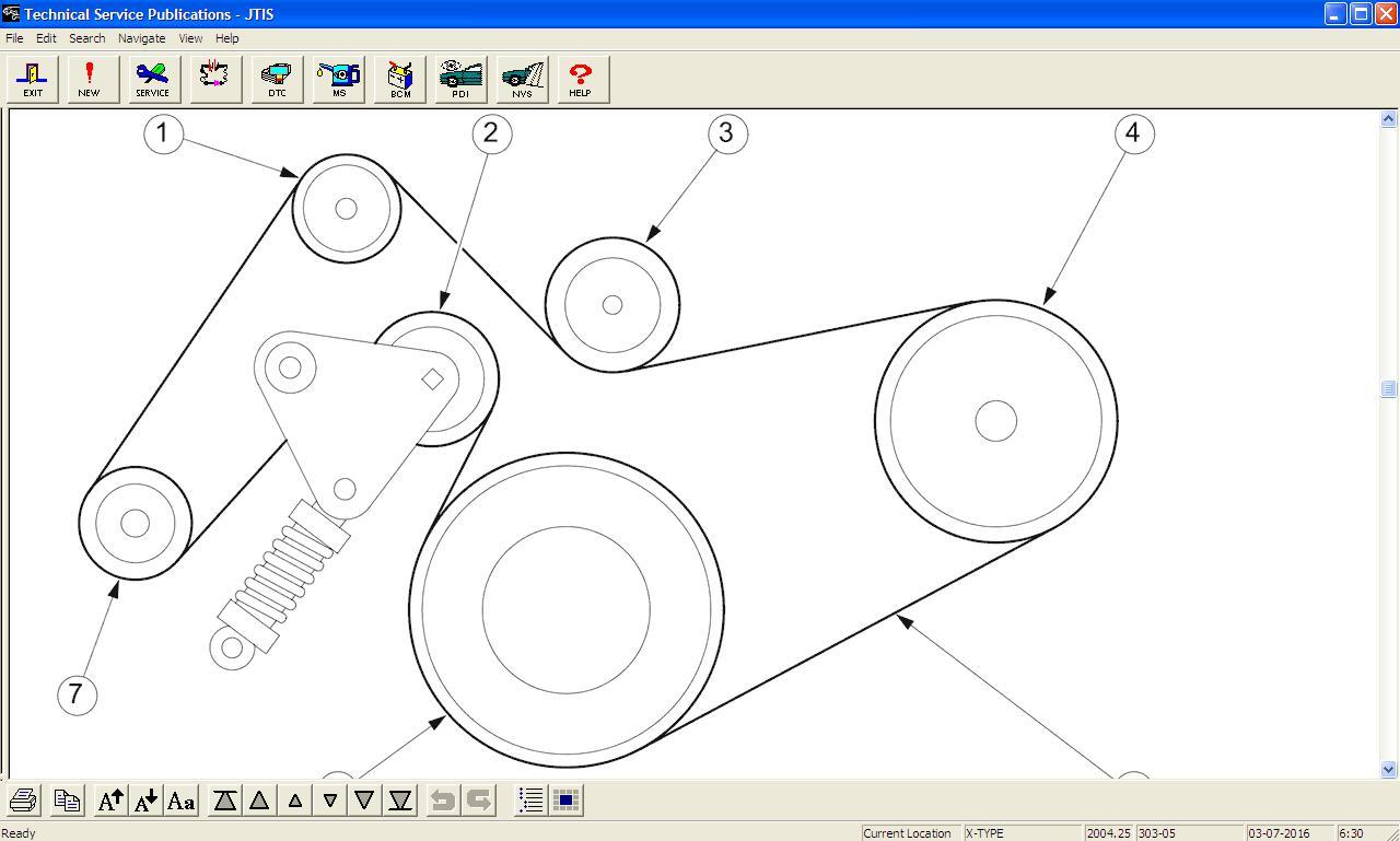 Schema Elettrico Jaguar Type : Schema drazkoveho remena type fórum